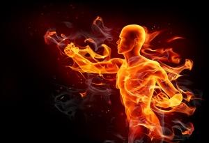 Fire kick